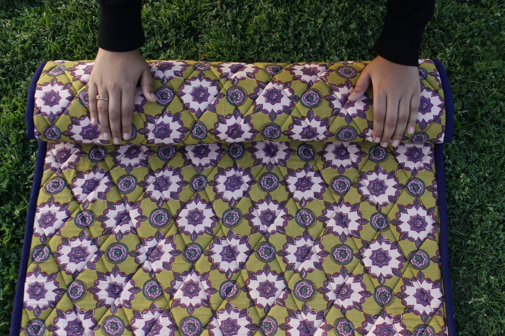 Inspwriter Handquilted Cotton yoga mats